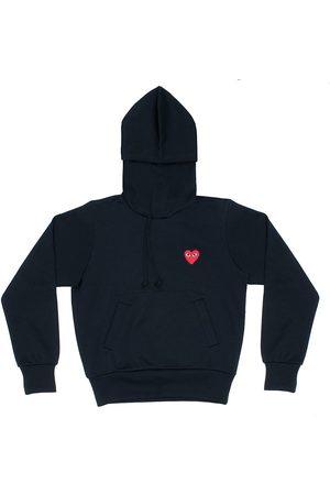 Comme des Garçons Women's Play Hooded Sweatshirt - - Size XS