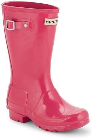 Hunter Kid's Rain Boots - - Size 4 (Child)