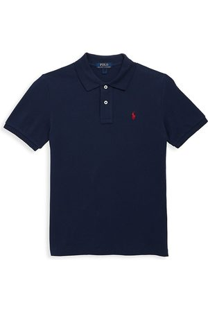 Ralph Lauren Little Boy's & Boy's Cotton Mesh Polo Shirt - - Size 7