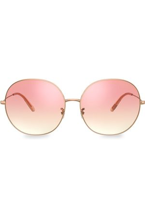Oliver Peoples Women's Darlen 64MM Oversized Round Sunglasses
