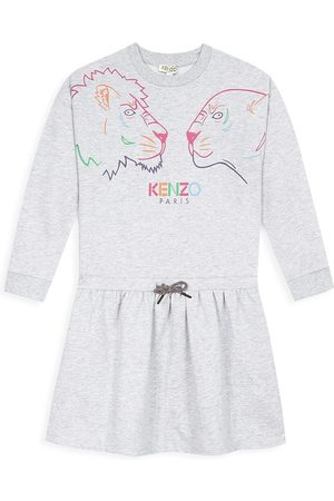 Kenzo Little Girl's & Girl's Iconic Fleece Dress - - Size 14