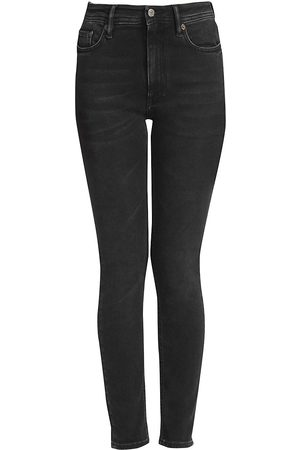 Acne Studios Women's High-Rise Five-Pocket Skinny Jeans - - Size 25 (2)