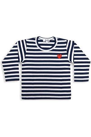 Comme des Garçons Little Kid's Play Kids Striped Shirt - - Size 6