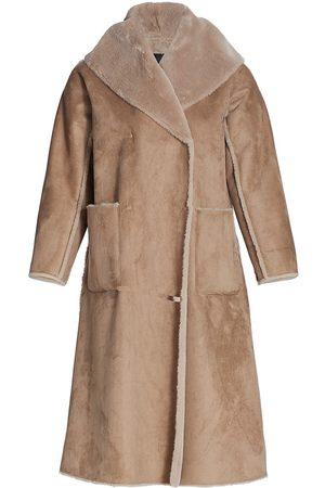 Persona by Marina Rinaldi Women's Efficace Faux Shearling Jacket - - Size 22W