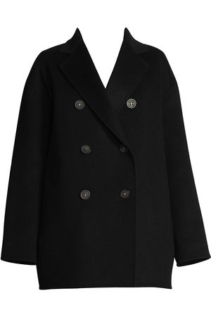 Acne Studios Women's Wool-Blend Peacoat - - Size 36 (4)