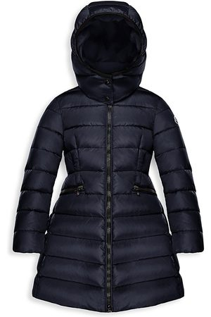 Moncler Little Girl's & Girl's Charpal Long Down Puffer Coat - - Size 12