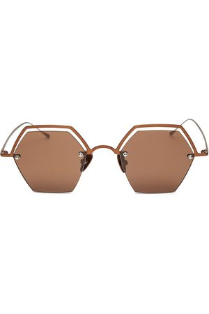 Smoke X Mirrors Women's The Line 47MM Hexagonal Sunglasses