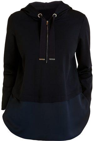 Persona by Marina Rinaldi Women's Sport Obelisco Jersey Punto Hooded Sweatshirt - - Size XL (20-22)