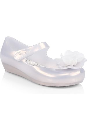 Mini Melissa Baby's, Little Girl's & Girl's Resin Floral Ballet Flats - - Size 10 (Toddler)