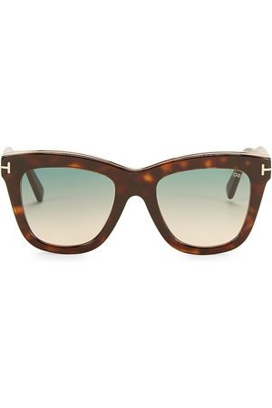 Tom Ford Women's Julie 52MM Square Sunglasses