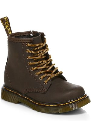 Dr. Martens Little Kid's & Kid's 1460 Wildhorse Leather Boots - - Size 9 UK (10 Toddler US)