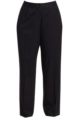 Lafayette 148 New York Women's Menswear Stretch-Wool Pants - - Size 24 W