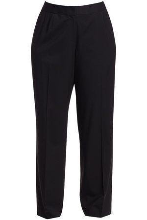 Lafayette 148 New York Women's Menswear Stretch-Wool Pants - - Size 24 W