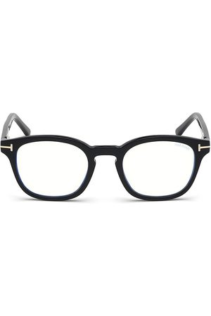 Tom Ford Women's 49MM Blue Block Soft Square Eyeglasses