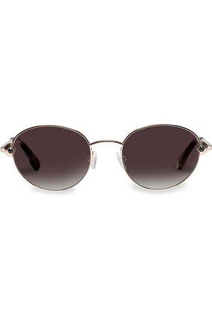 Le Specs Women's Vamp 53MM Round Sunglasses