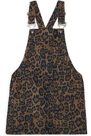 Joes Jeans Girl's The Riley Leopard-Print Dress - - Size Large (14)