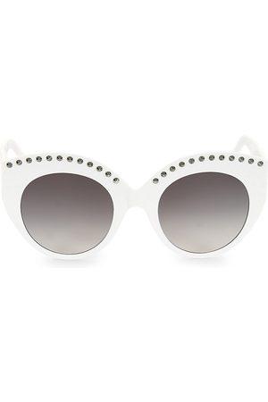 Alaïa Women's 52MM Round Sunglasses