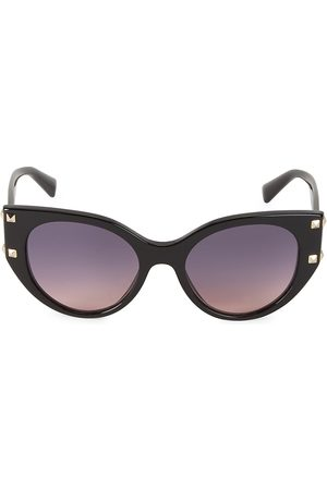 VALENTINO Women's 53MM Cat Eye Rockstud Sunglasses