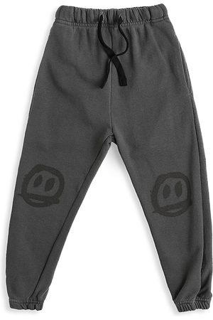 Nununu Baby's, Little Boy's & Boy's Sprayed Smile Sweatpants - - Size 10-11
