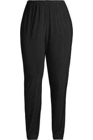 Caroline Rose Women's Slim Jersey Pants - - Size 2X (18-20)