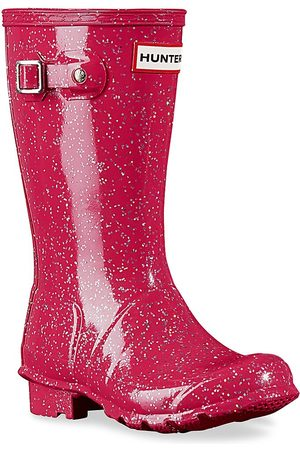 Hunter Girl's Original Glitter Rain Boots - - Size 3 (Child)