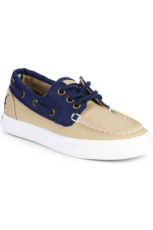 Ralph Lauren Boy's Bridgeport Canvas Boat Shoes - - Size 3 (Child)