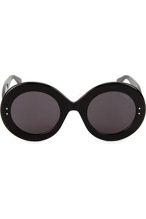 Alaïa Women's Le Round Clou 50MM Oversized Round Sunglasses