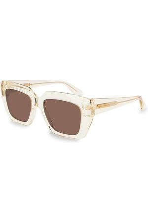 Bottega Veneta Women's 52MM Square Sunglasses