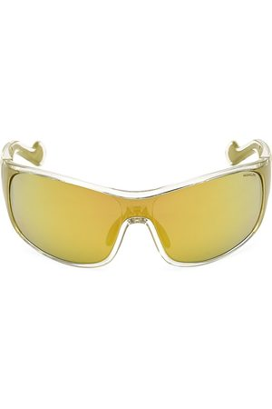 Moncler Women's Wraparound Shield Sunglasses