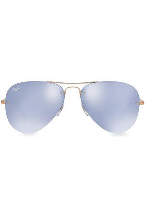 Ray-Ban Women's RB3449 59MM Iconic Semi-Rimless Aviator Sunglasses