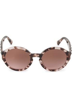 VALENTINO Women's 52MM Round Rockstud Sunglasses