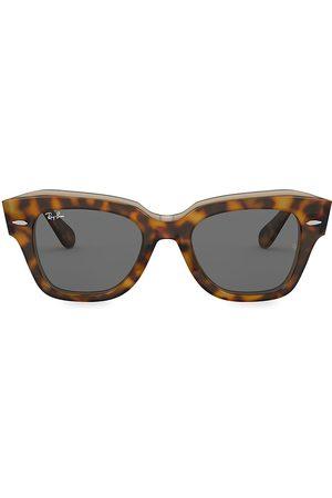 Ray-Ban Women's RB2186 49MM Tortoiseshell Wayfarer Sunglasses
