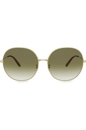 Oliver Peoples Women's Darlen 64MM Oversized Round Sunglasses