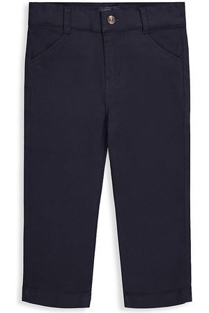 Andy & Evan Baby's & Little Boy's Stretch-Cotton Twill Trousers - Navy - Size 9 Months