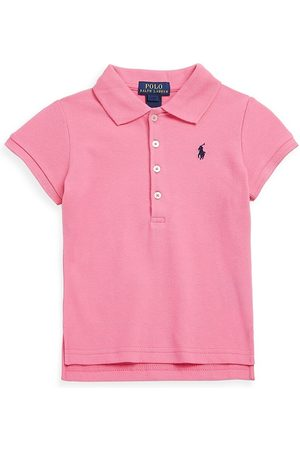Ralph Lauren Little Girl's & Girl's Stretch Cotton Polo Shirt - - Size 3