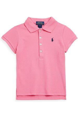 Ralph Lauren Little Girl's & Girl's Stretch Cotton Polo Shirt - - Size Large (12-14)