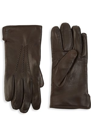 Saks Fifth Avenue Men's COLLECTION Leather Touch Tech Gloves - - Size Large
