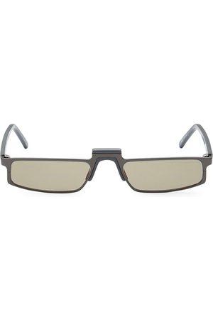 ANDY WOLF Women's White Heat Muhren 52MM Rectangle Sunglasses