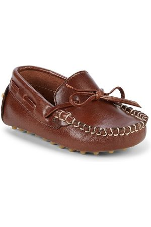 Elephantito Baby Boy's Leather Driving Loafers - - Size 4 (Baby)