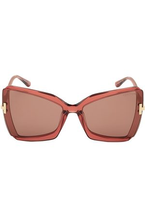 Tom Ford Women's Gia 63MM Butterfly Sunglasses