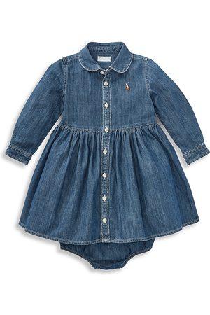 Ralph Lauren Baby Girl's Denim Shirtdress - - Size 18 Months