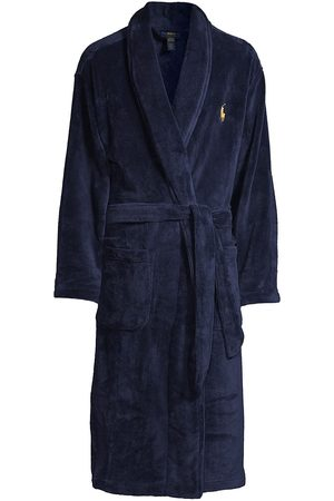 Polo Ralph Lauren Men's Shawl Collar Plush Robe - - Size Small/Medium