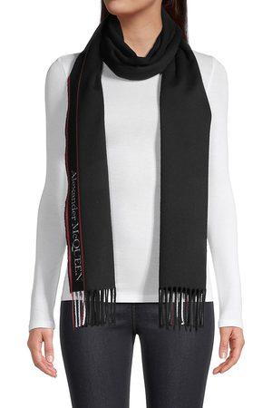 Alexander McQueen Women's Logo Wool & Cashmere Scarf