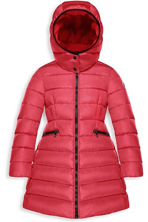 Moncler Little Girl's & Girl's Charpal Long Down Puffer Coat - - Size 14