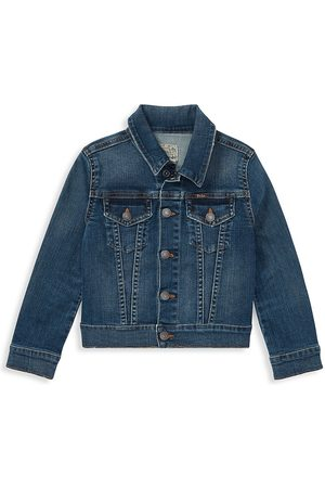 Ralph Lauren Little Girl's Trucker Jacket - - Size 8