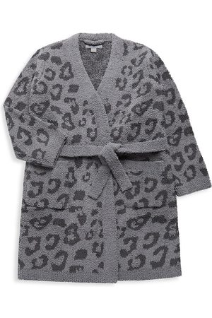Barefoot Dreams Little Girl's & Girl's Leopard-Print Robe - - Size 12-14