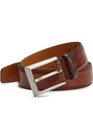 Saks Fifth Avenue Men's COLLECTION BY MAGNANNI Leather Belt - - Size 44
