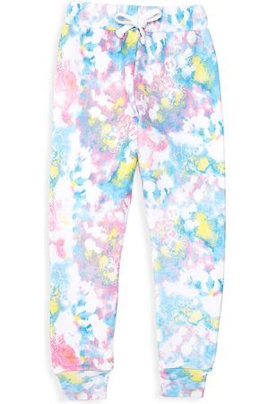 Boy Meets Girl X Care Bears Little Girl's & Girl's Tie-Dye Organic Cotton Fleece Sweatpants - Size 2