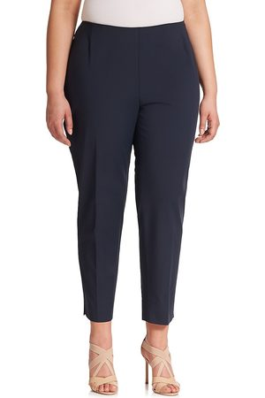 Lafayette 148 New York Women's Bi-Stretch High-Waist Pants - - Size 24 W