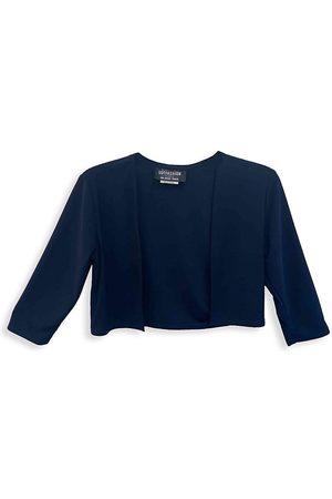 Un Deux Trois Girl's Cropped Bolero Jacket - - Size Medium (10)